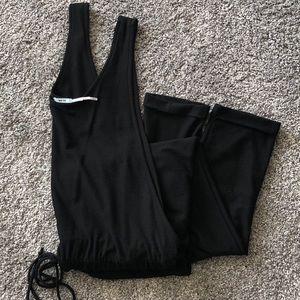 Black Tank Jumpsuit